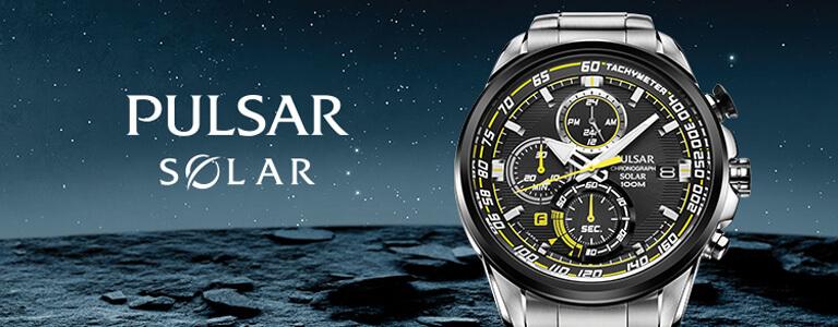 Pulsar Solar Watches
